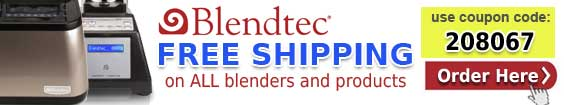 Reconditioned Blendtec Coupon