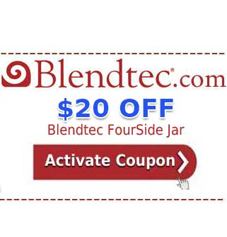 Blendtec FourSide Jar Coupon